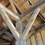 Balken van vurenhout om alles te bouwen